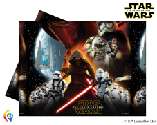 Star Wars Theme Plastic Tablecover